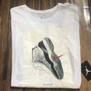 591340b56dd Jordan Shirts | Mens Retro 11 Jsw Cnxn Tshirt | Poshmark